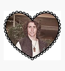 Young Justin Trudeau  Photographic Print