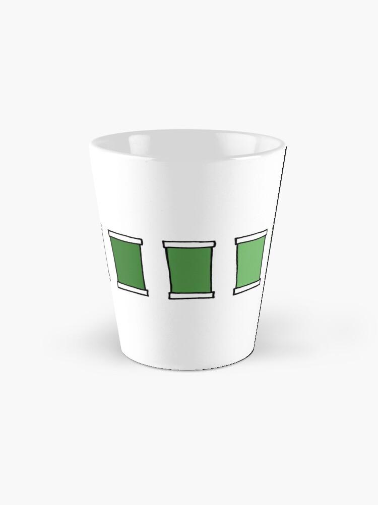 Alternative Ansicht von Farbfeld 3- Grün Tassen