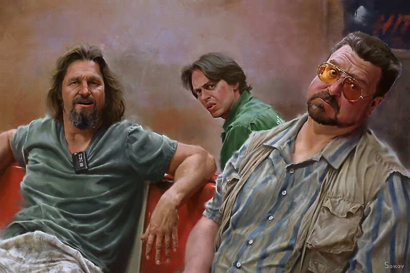 Big Lebowski Oil Paintings