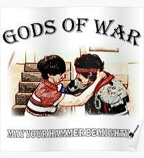 Gods of War - Hot Rod Poster