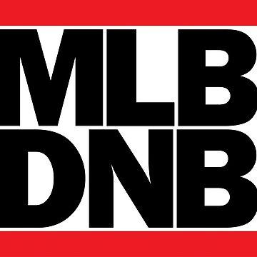 MLB DNB (Black on Light) by djctoafn