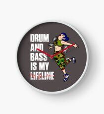 D&B Is My Lifeline Clock
