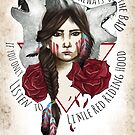Kleine rote Ridding Hood von Amparo Cortes