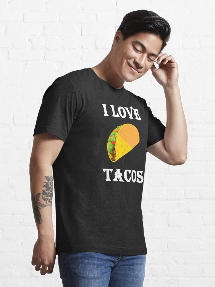 Alternate view of I LOVE TACOS Essential T-Shirt