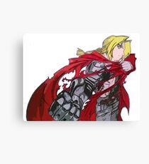 Edward Elric Full Metal Alchemist  Canvas Print