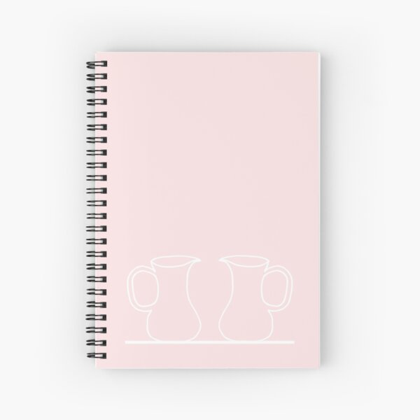 Pouring Spiral Notebook