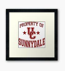 buffy - uc sunnydale Framed Print