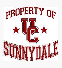 buffy - uc sunnydale Photographic Print