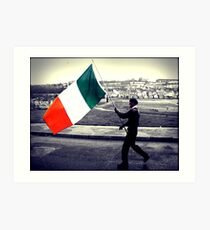 Is Eireannach Me- I am irish Art Print