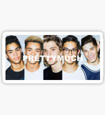 PRETTYMUCH Merch Sticker