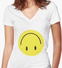 Fake Women's Fitted V-Neck T-Shirt