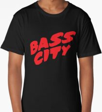 Bass City (Red) Long T-Shirt