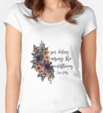 Wildflowers Women's Fitted Scoop T-Shirt