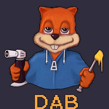 Squirrel Dab by TreeSeed