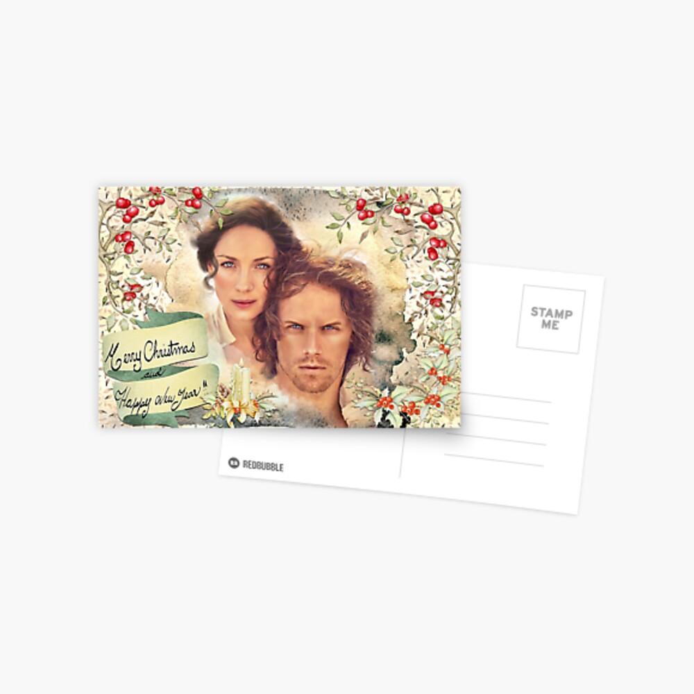 Happy Holidays  Postkarte