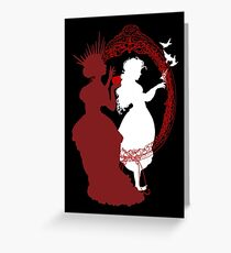 Snow White and the Queen Greeting Card