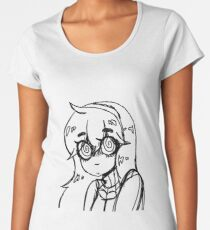 Hex Maniac Line Art Sketch Women's Premium T-Shirt