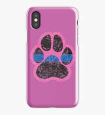 Paw Print - Left Chest iPhone Case/Skin