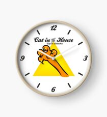 Cat in the House VRS2 Clock