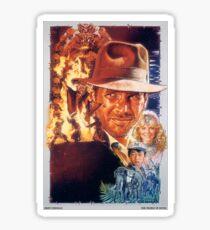 Indiana Jones and the Temple of Doom Sticker