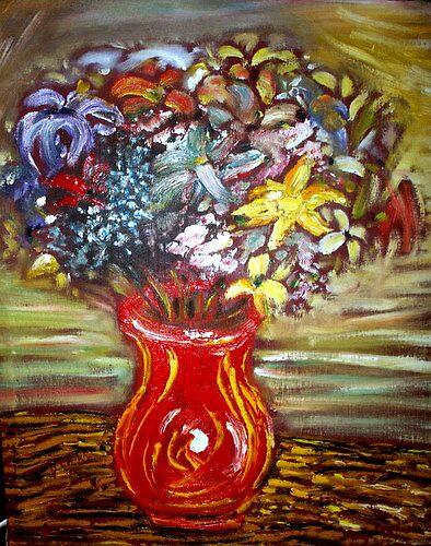 Vase of Flowers by stevephillips