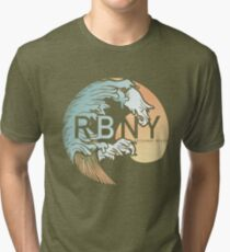 Rockaway Beach Wave Tri-blend T-Shirt