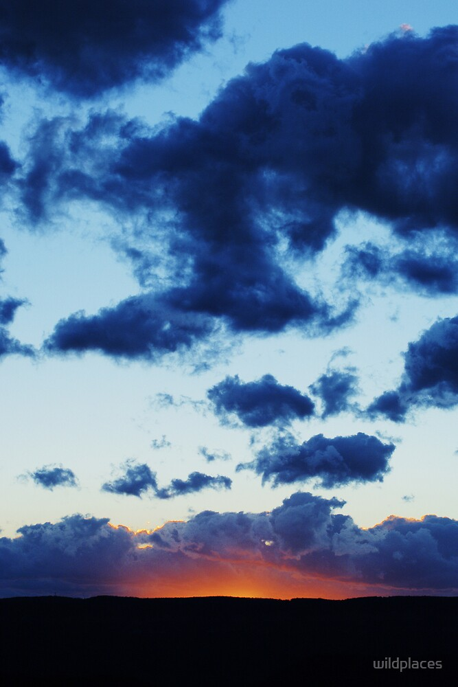 sunset clouds  by wildplaces