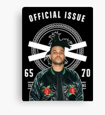 The Weeknd Official Issue Canvas Print