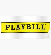 Playbill Logo Poster