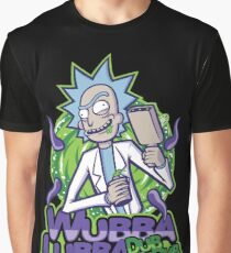 Wubba Lubba - Rick and Morty Graphic T-Shirt