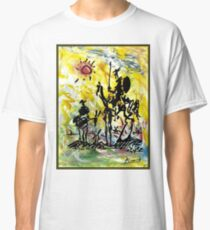 DON QUIXOTE : Vintage Abstract Painting Print Classic T-Shirt