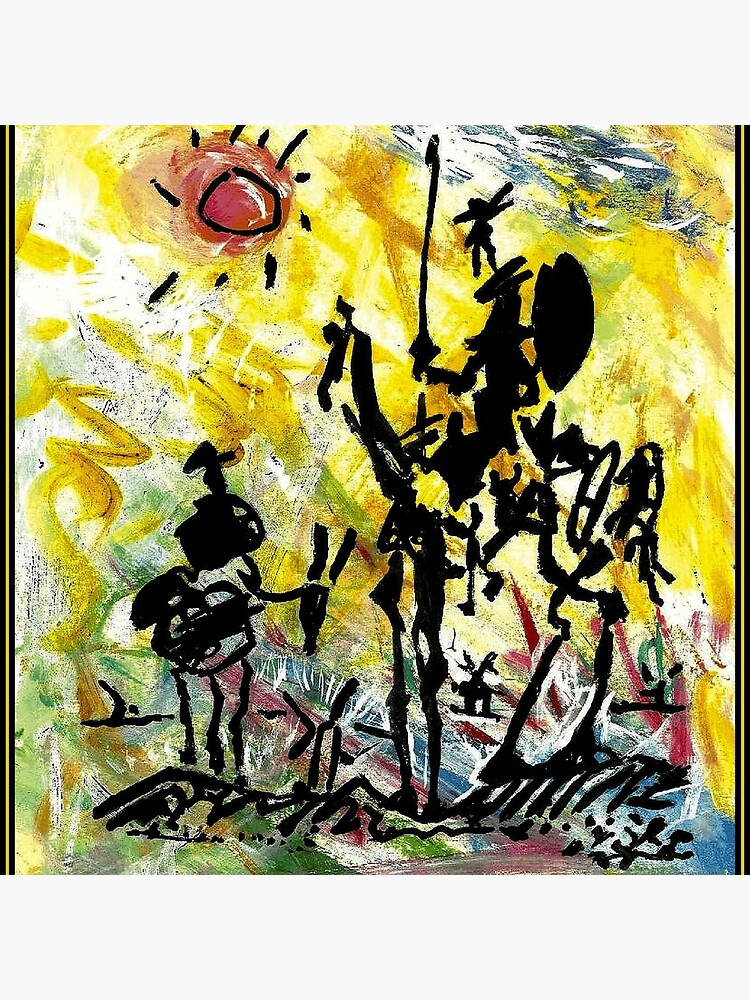 DON QUIXOTE : Vintage Abstract Painting Print by posterbobs