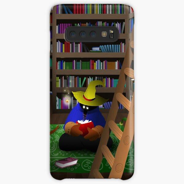 Black Mage in Library Samsung Galaxy Snap Case