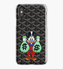 Black Goyard Money monopoly iPhone Case/Skin