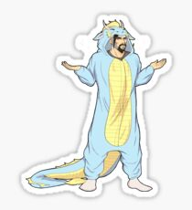 Noodle Dragon Kigurumi Sticker