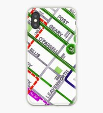 San Francisco map - Tenderloin iPhone Case