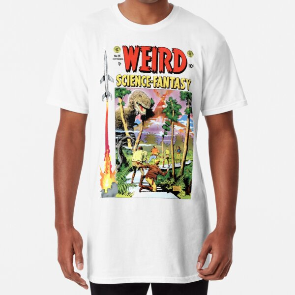 Vintage Classic Weird Science Fantasy no. 25 RETRO Long T-Shirt