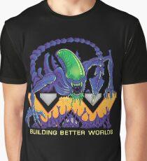 Building Better Worlds - Aliens Graphic T-Shirt