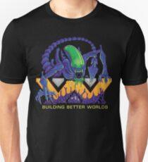 Building Better Worlds - Aliens Unisex T-Shirt