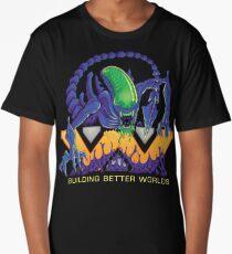 Building Better Worlds - Aliens Long T-Shirt