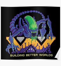 Building Better Worlds - Aliens Poster