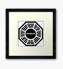 Dharma Initiative Sign Framed Print