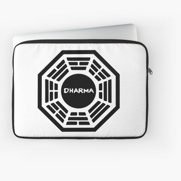 Dharma Initiative Sign Laptop Sleeve