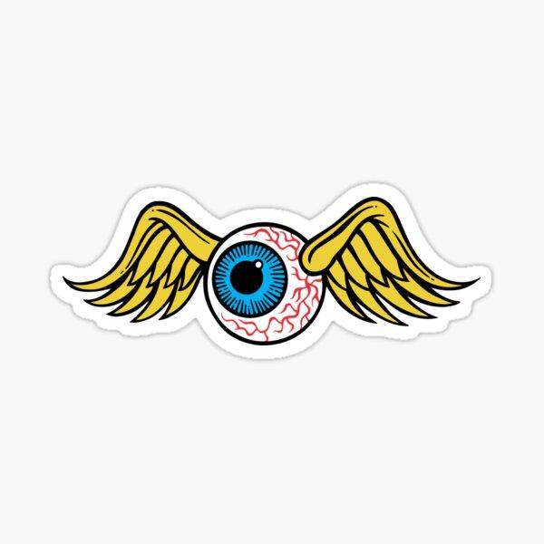 Fliegender Augapfel Sticker