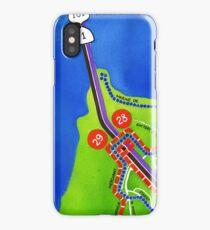 San Francisco map - Presidio iPhone Case
