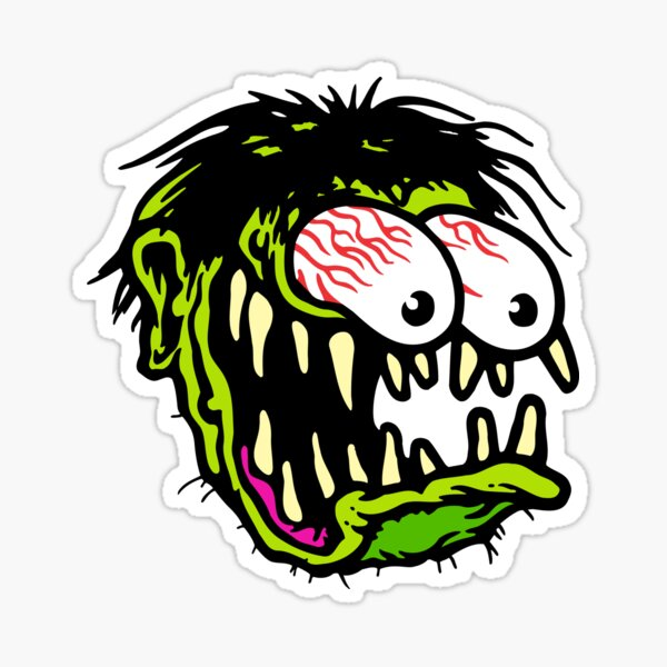 Funny Fink Sticker