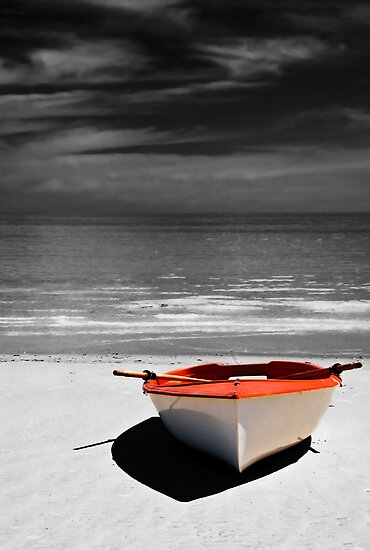 Deserted Boat. by Ryan Carter