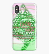 Aka ivy leaf iPhone Case/Skin