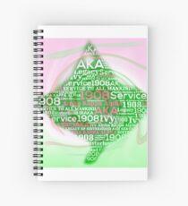 Aka ivy leaf Spiral Notebook