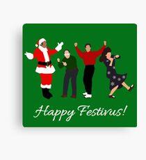 Happy Festivus Canvas Print